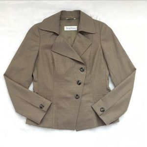 Like New MaxMara Wool Blazer